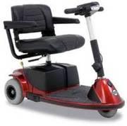 3 wheel Pride Revo mobility scooter