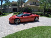 2014 Ferrari 458 2198 miles
