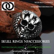 Gold Skull Rings