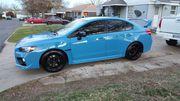 2016 Subaru WRX STI Series Hyper Blue